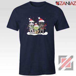 Star Wars Christmas Navy Blue Tshirt