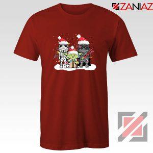 Star Wars Christmas Red Tshirt
