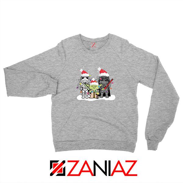 Star Wars Christmas Sport Grey Sweatshirt