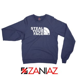 Steal Your Face Jam Band Navy Blue Sweatshirt
