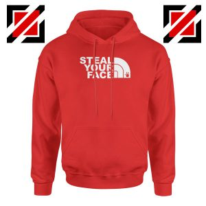 Steal Your Face Jam Band Red Hoodie