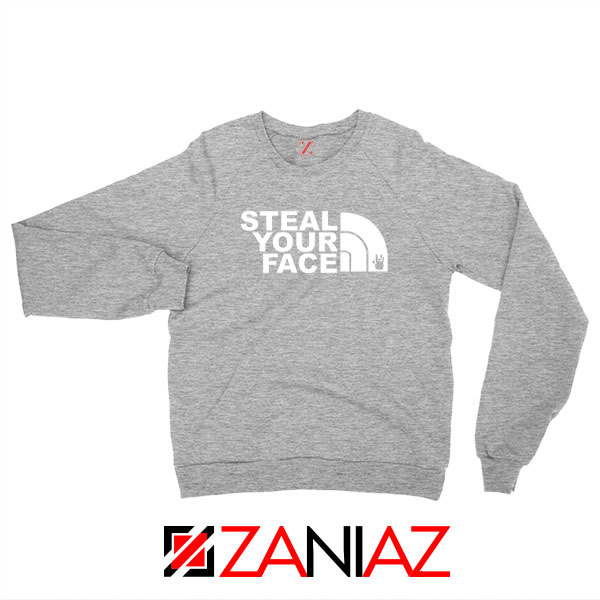 Steal Your Face Jam Band Sport Grey Sweatshirt