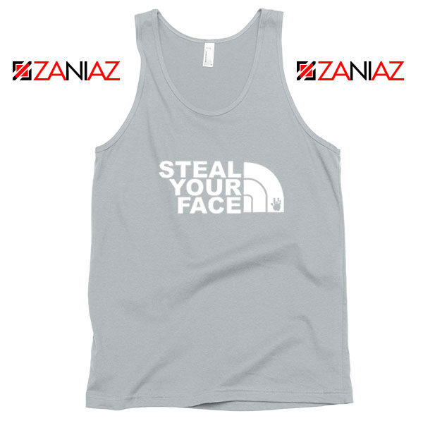 Steal Your Face Jam Band Sport Grey Tank Top