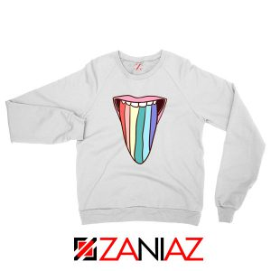 Tongue Rainbow Cute Sweatshirt