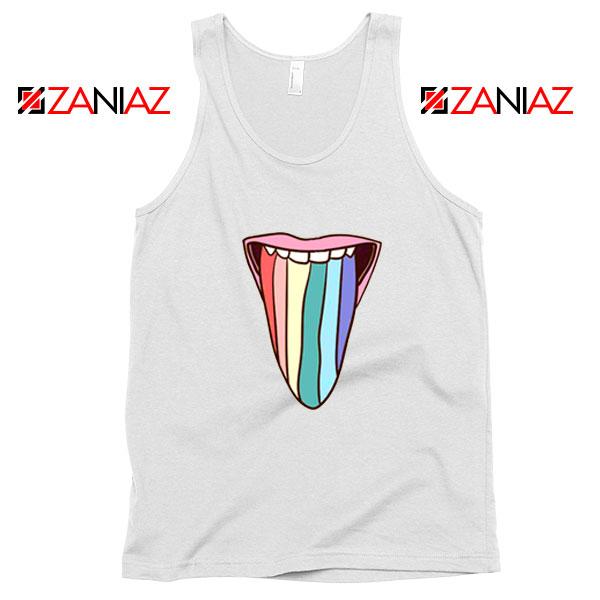 Tongue Rainbow Cute Tank Top