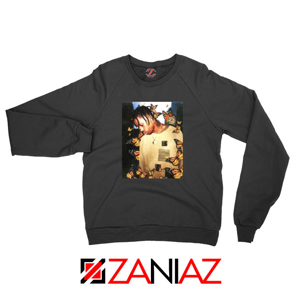 Vintage Travis Scott Black Sweatshirt