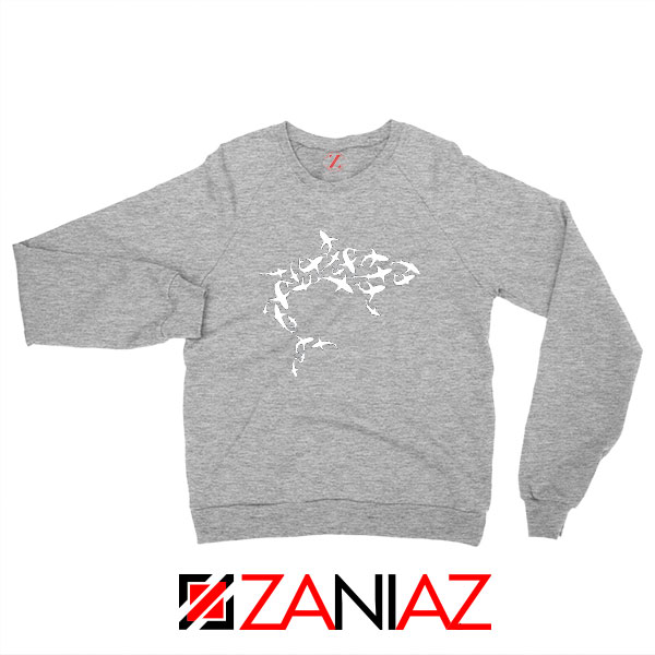 White Shark Lover Sport Grey Sweatshirt