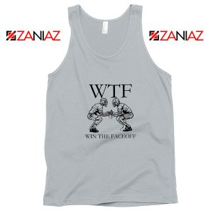 Win The Face Off Sport Grey Tank Top