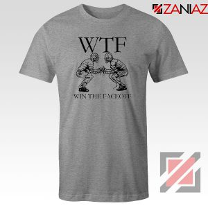 Win The Face Off Sport Grey Tshirt