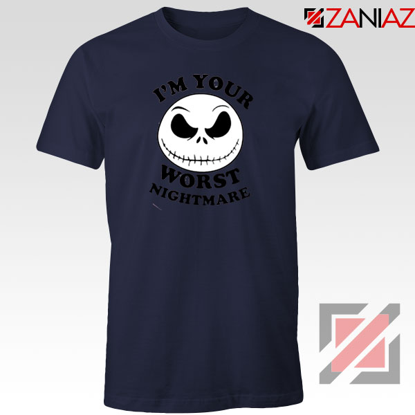Worst Nightmare Navy Blue Tshirt
