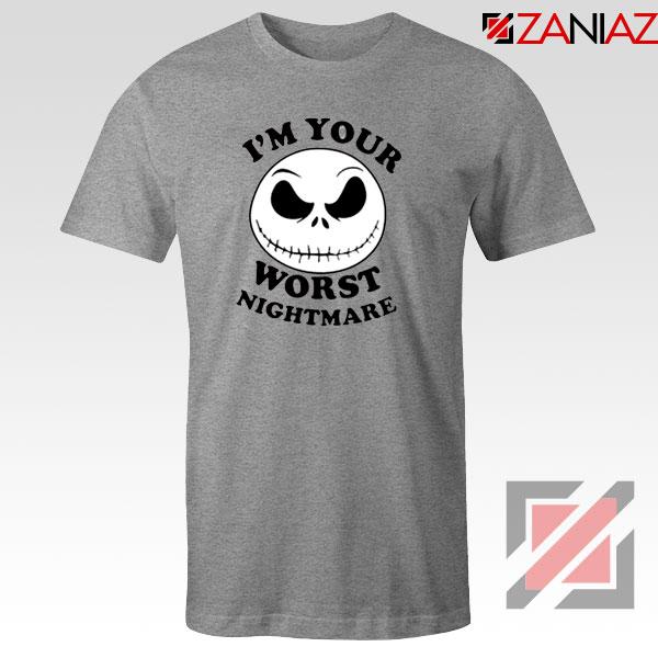 Worst Nightmare Sport Grey Tshirt