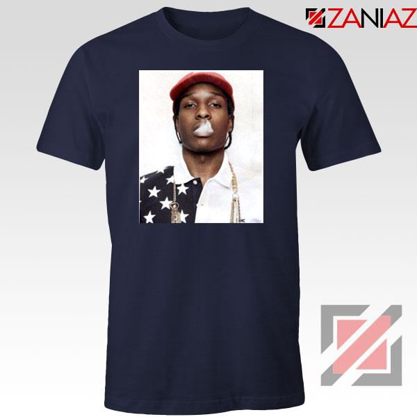 ASAP Rocky Navy Blue Tshirt
