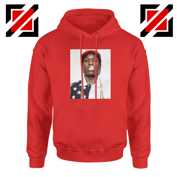 ASAP Rocky Red Hoodie