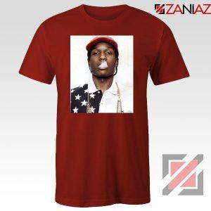 ASAP Rocky Red Tshirt