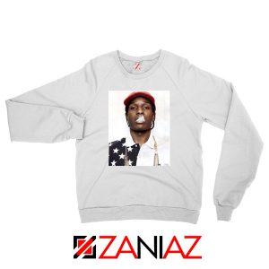 ASAP Rocky White Sweatshirt
