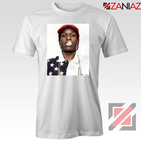 ASAP Rocky White Tshirt