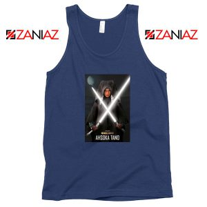 Ahsoka Shining Sword Navy Blue Tank Top