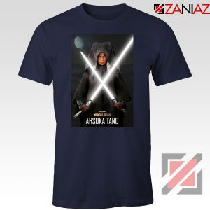 Ahsoka Shining Sword Navy Blue Tshirt