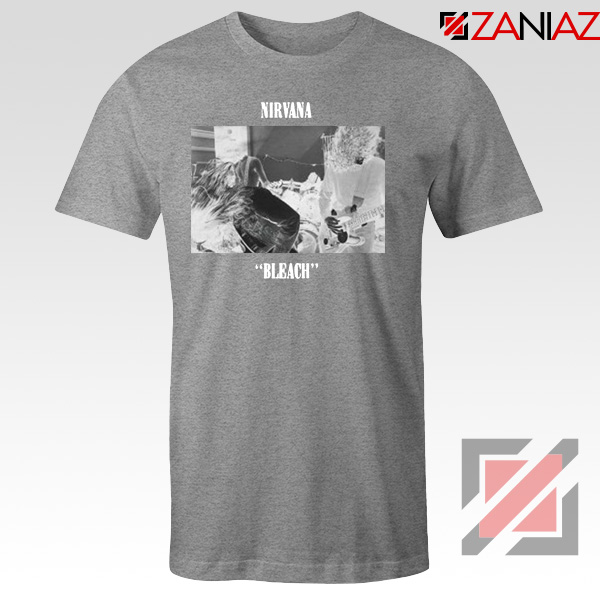 Bleach Nirvana Sport Grey Tshirt