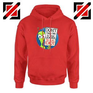 Government Aliens Red Hoodie