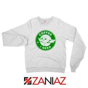Grogu Need Coffee Sweatshirt