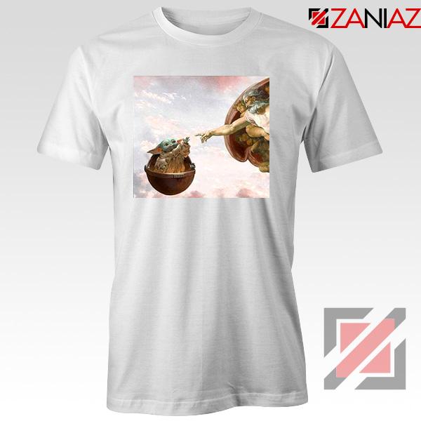 Grogu Renaissance White Tshirt