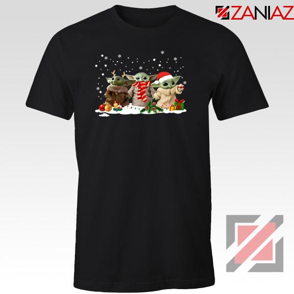 Grogu Snow Christmas Tshirt