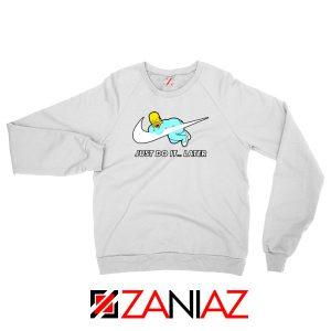 Homer Simpson Holiday White Sweatshirts