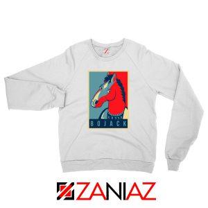 Horseman Sitcom White Sweatshirt