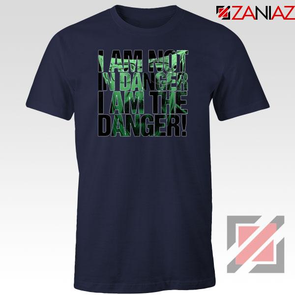 I Am The Danger Heisenberg Navy Blue Tshirt