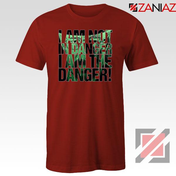 I Am The Danger Heisenberg Red Tshirt