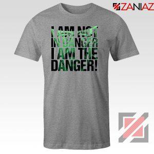 I Am The Danger Heisenberg Sport Grey Tshirt