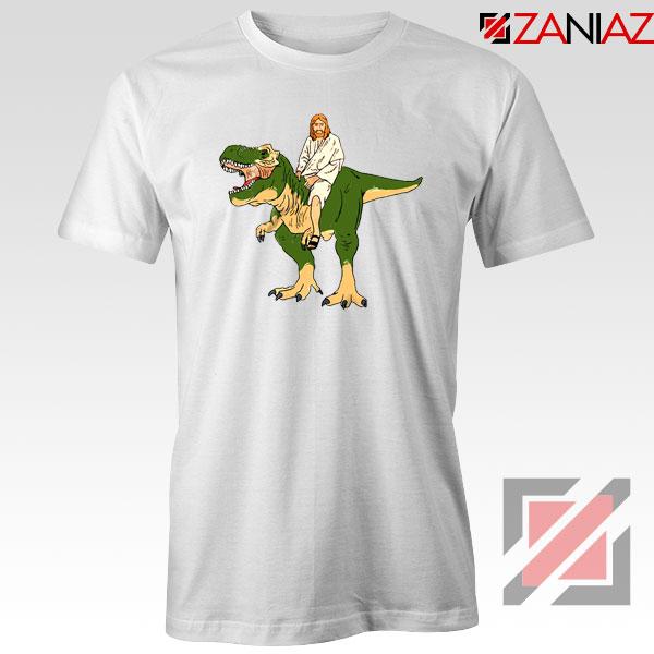 Jesus Riding T Rex Tshirt