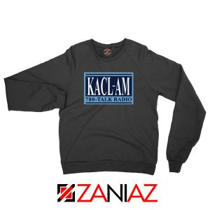 KACL AM Radio Black Sweatshirt