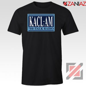 KACL AM Radio Black Tshirt
