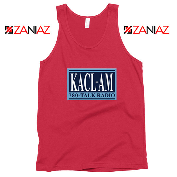 KACL AM Radio Red Tank Top