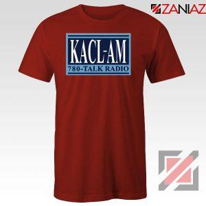 KACL AM Radio Red Tshirt