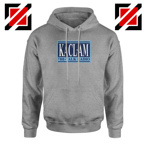 KACL AM Radio Sport Grey Hoodie
