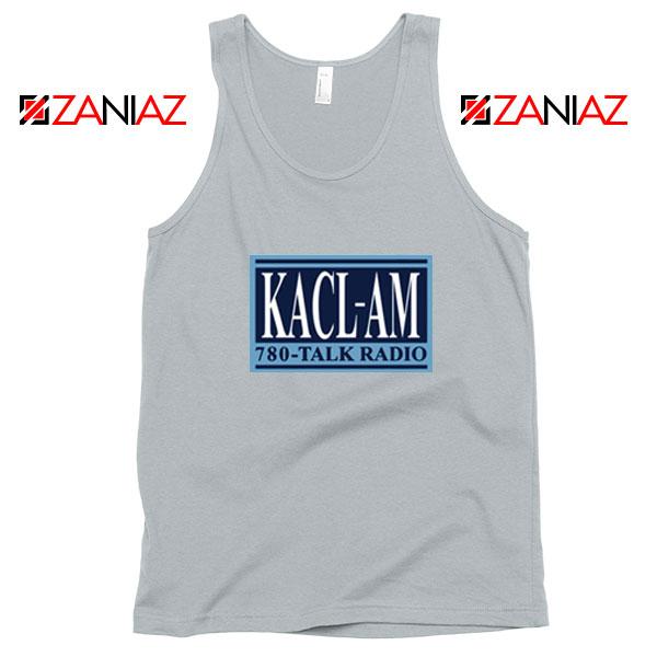 KACL AM Radio Sport Grey Tank Top