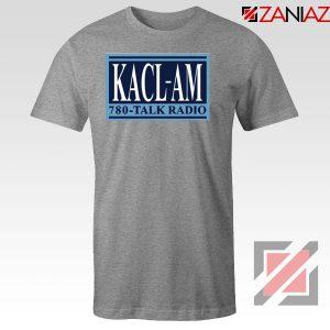 KACL AM Radio Sport Grey Tshirt