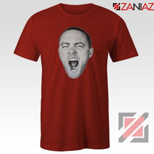 Mac Miller Shout Red Tshirt