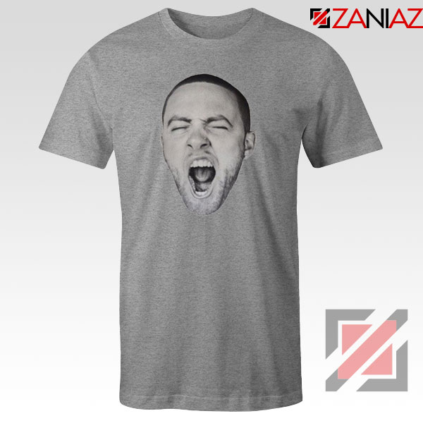 Mac Miller Shout Sport Grey Tshirt