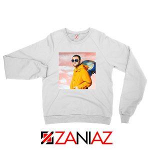 Mac Miller Vintage White Sweatshirt