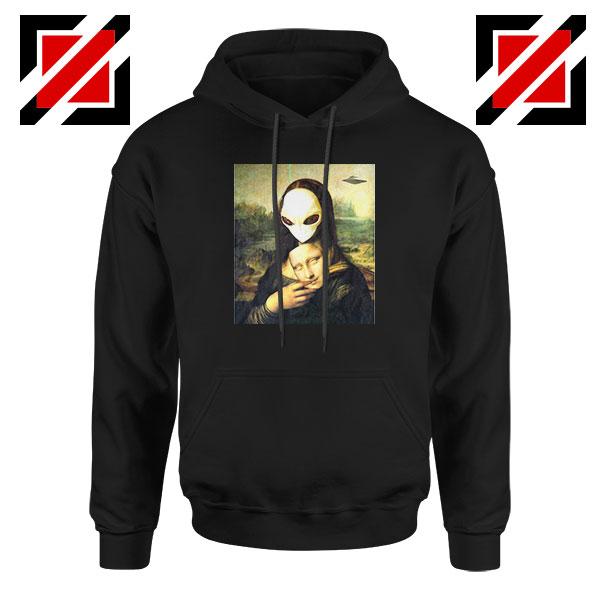 Mona Lisa Alien Hoodie