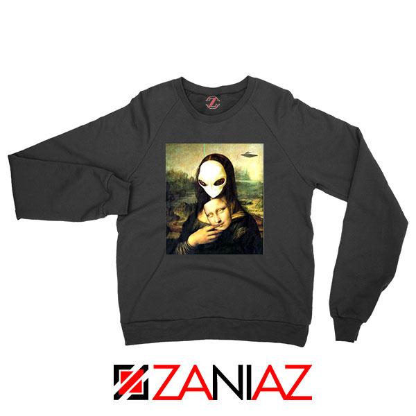 Mona Lisa Alien Sweatshirt