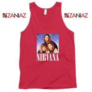 Nirvana Hanson Red Tank Top