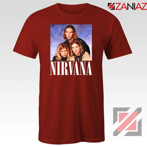 Nirvana Hanson Red Tshirt