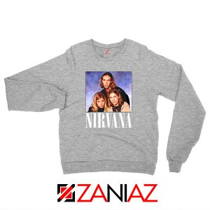 Nirvana Hanson Sport Grey Sweatshirt