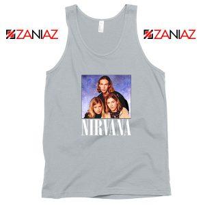 Nirvana Hanson Sport Grey Tank Top