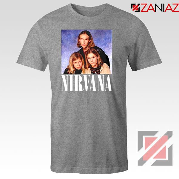 Nirvana Hanson Sport Grey Tshirt